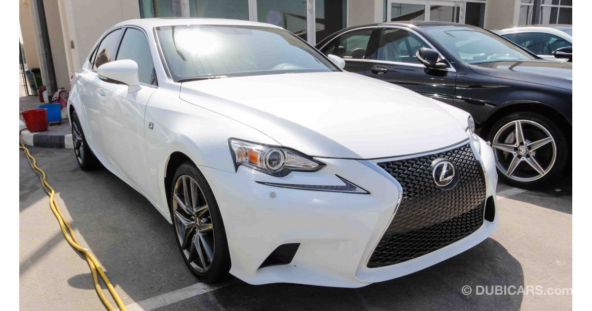 Lexus Is 250 F Sport For Sale Aed 95 000 White 2015