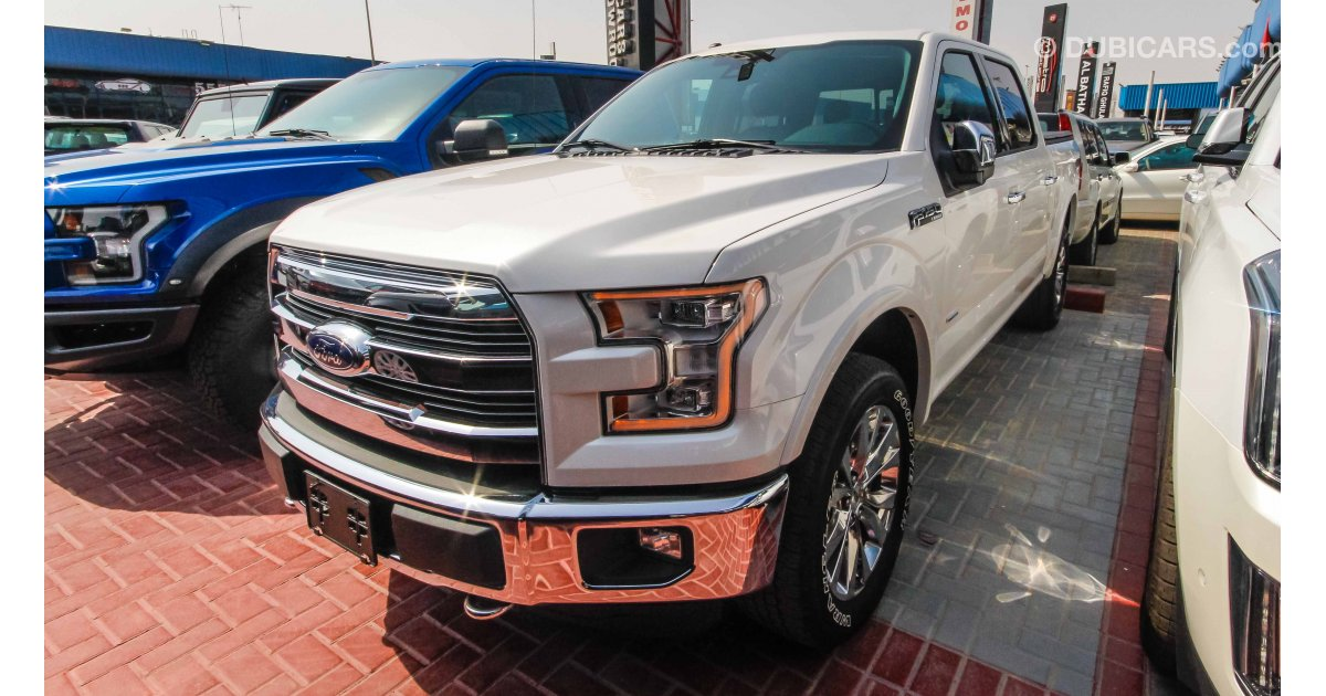 ford f 150 lariat platinum for sale aed 185 000 white 2017. Black Bedroom Furniture Sets. Home Design Ideas