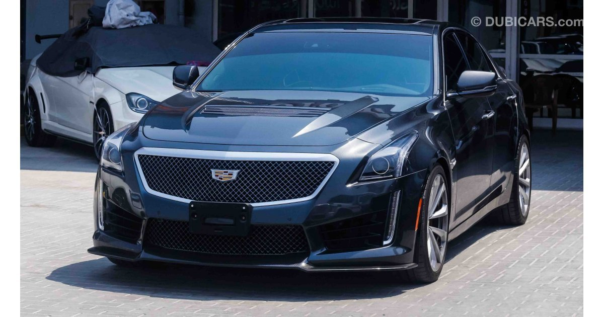 Cadillac Cts V8 Supercharged For Sale Aed 249 000 Grey