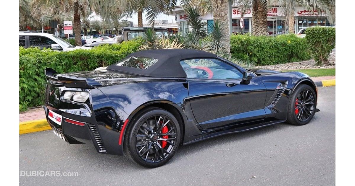 Chevrolet Corvette Convertible Z06 For Sale Aed 399 000