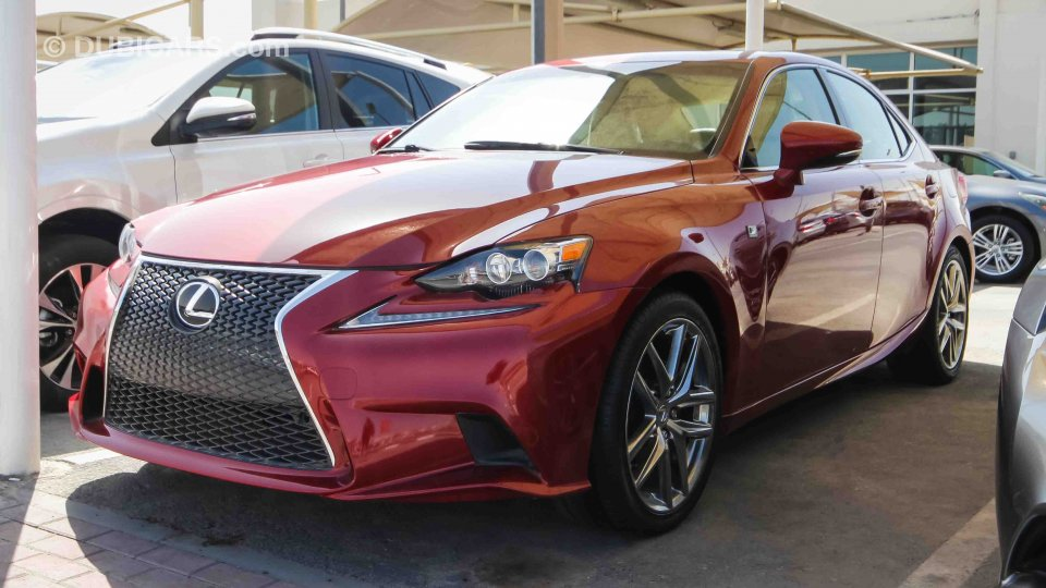 Lexus Is 250 For Sale Aed 70 000 Red 2015