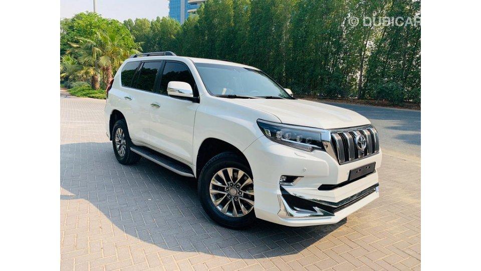 Toyota Prado 2010 Vxl White Facelift 2020 For Sale Aed