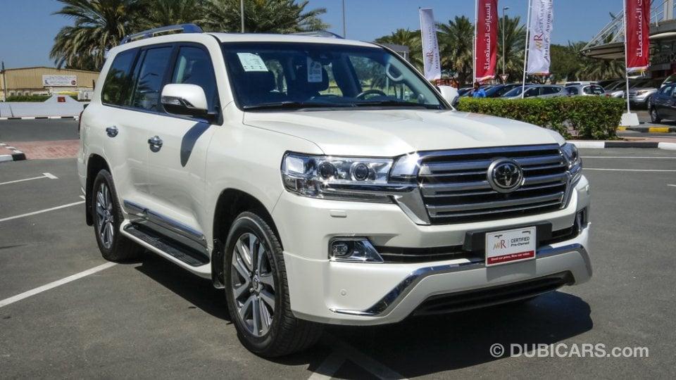 Toyota Land Cruiser Vxr V8 5 7 For Sale Aed 299 900
