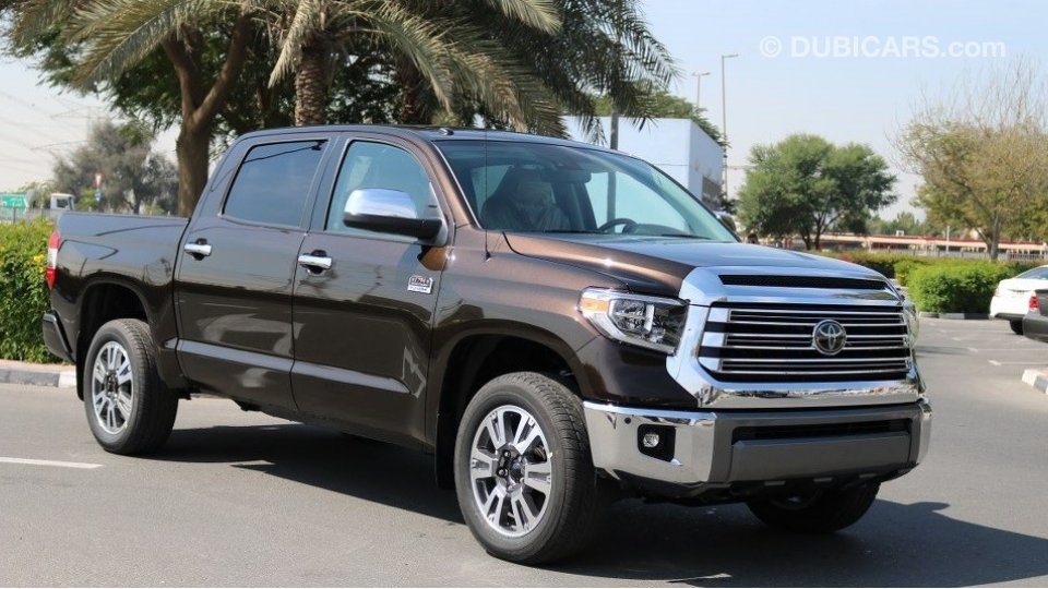 toyota tundra for sale aed 212 000 brown 2018. Black Bedroom Furniture Sets. Home Design Ideas