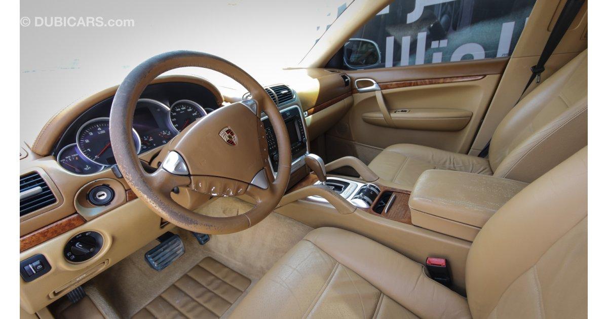 Porsche Cayenne Turbo For Sale Aed 34 000 White 2004