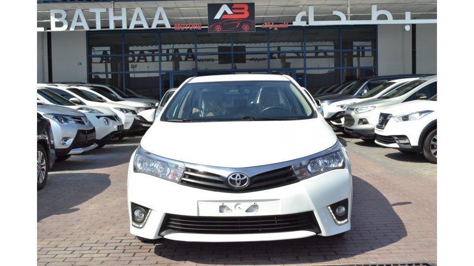 Toyota Corolla 2.0L GLI Mid Option