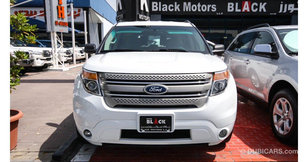 Ford Explorer For Sale Aed 73 500 White 2014