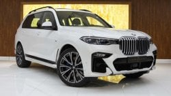BMW X7 2019 BMW X7 xDrive50i M AERODYNAMICS PACKAGE, GCC,WARRANTY AND CONTRACT SERVICE.