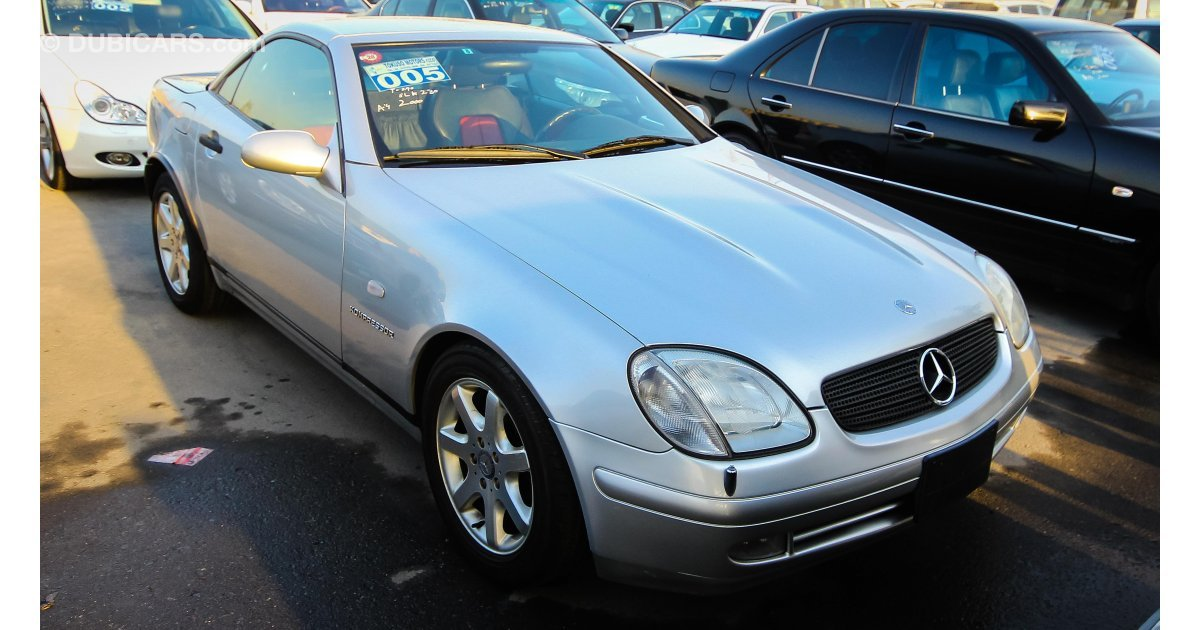 Mercedes benz slk 230 for sale aed 14 000 grey silver 2000 for Mercedes benz slk 230 for sale