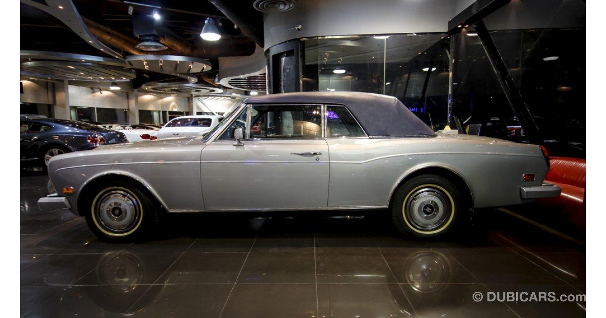 Rolls Royce Corniche Ii For Sale Aed 225 000 Grey Silver