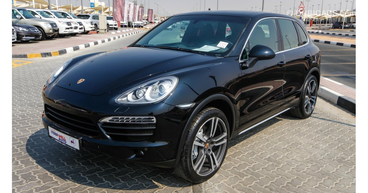 Porsche Cayenne S For Sale Aed 222 000 Black 2014