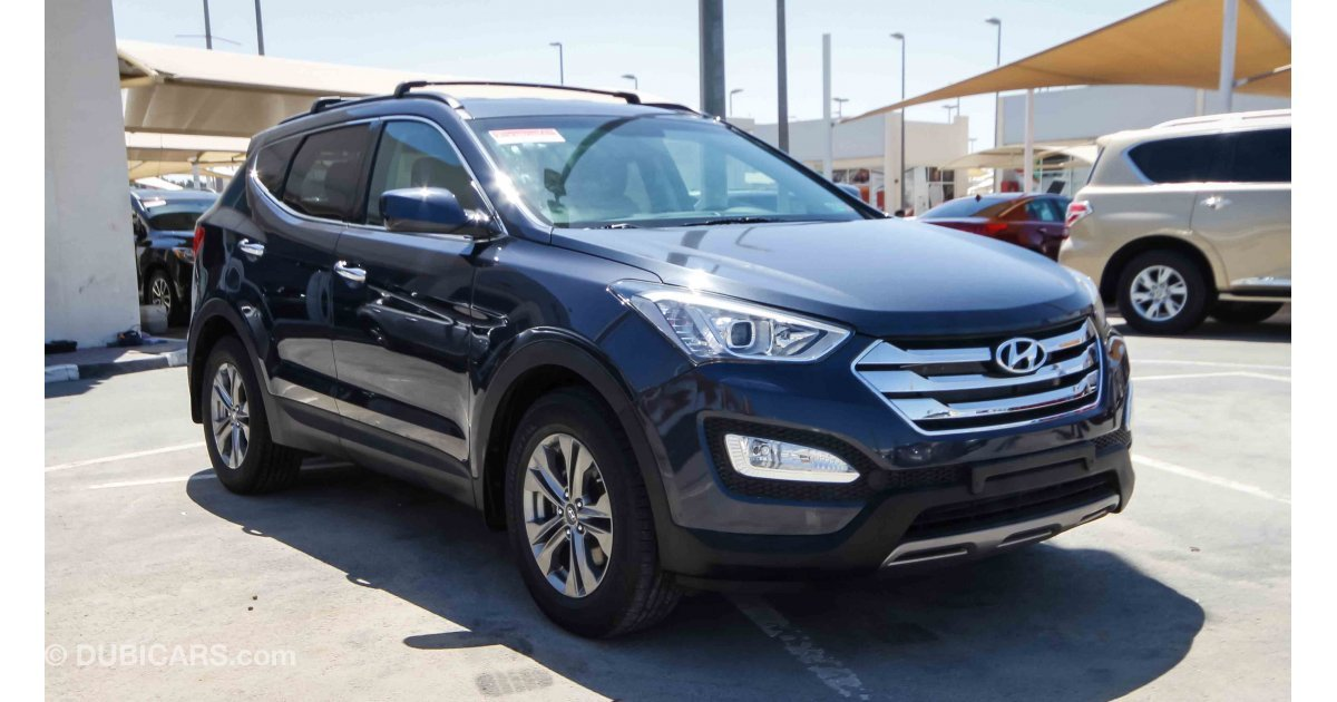 hyundai santa fe sport awd for sale aed 51 000 brown 2015. Black Bedroom Furniture Sets. Home Design Ideas