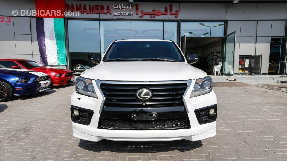 Lexus lx 570 with 2016 lx 570 supercharger kit for sale aed 115 000 white 2009 - Lx 570 supercharger ...