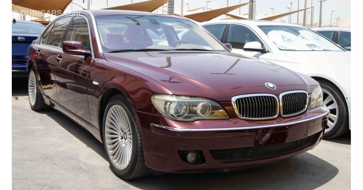 Bmw 750 Li For Sale Aed 17 000 Burgundy 2006