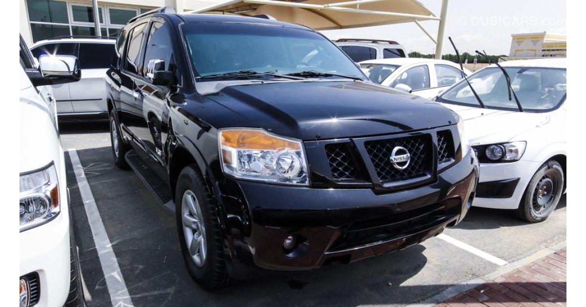 Nissan Armada V8 SE For Sale: AED 38,000. Black, 2009