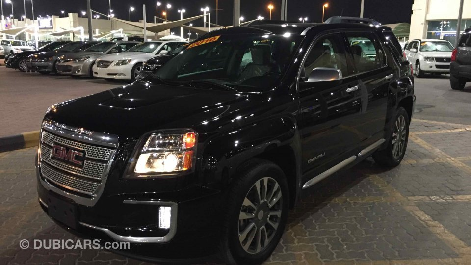 gmc terrain gmc terrain denali 2016 for sale aed 61 000. Black Bedroom Furniture Sets. Home Design Ideas