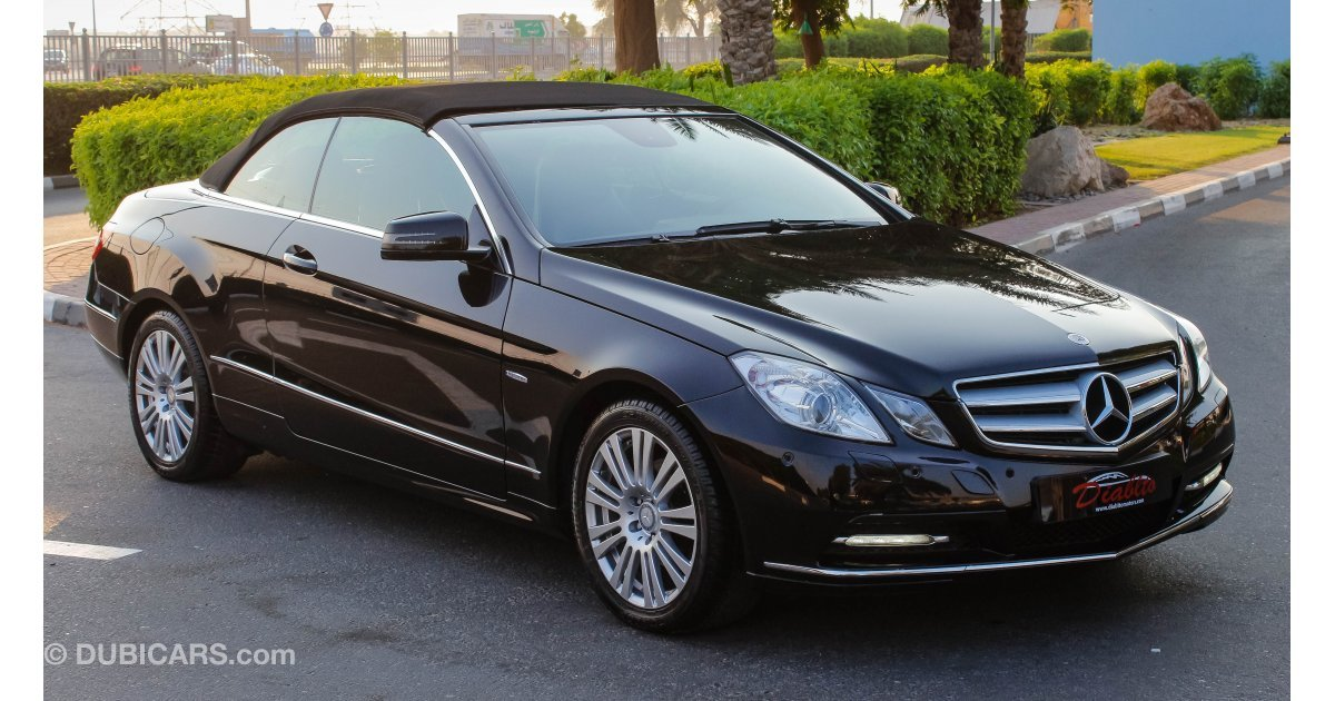 Mercedes benz e 200 coupe for sale aed 100 000 black 2013 for Mercedes benz e350 coupe for sale