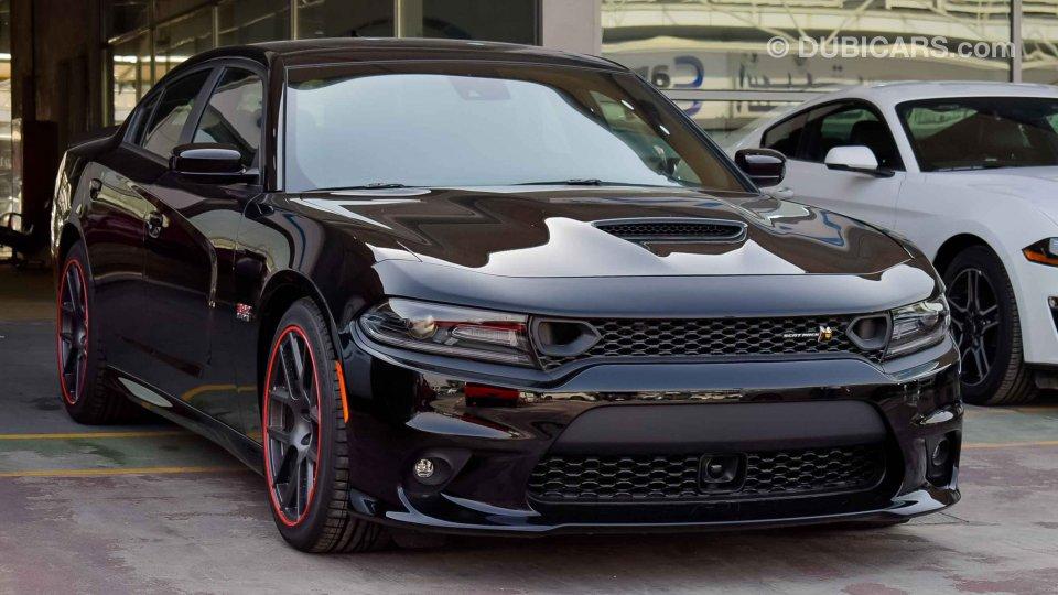 Dodge Charger 2019 Scatpack 392 Hemi 6 4l V8 Gcc 0km W
