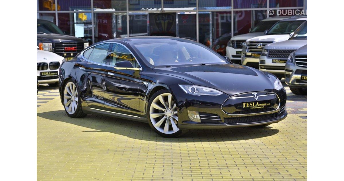 Tesla Model S For Sale Aed 239 000 Black 2013