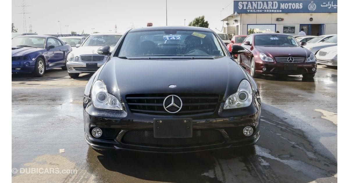Mercedes benz cls 55 amg v8 kompressor for sale aed for Mercedes benz cls55 amg for sale