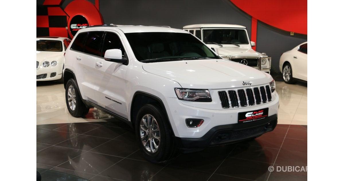 jeep grand cherokee 4x4 laredo for sale aed 95 000 white 2016. Black Bedroom Furniture Sets. Home Design Ideas