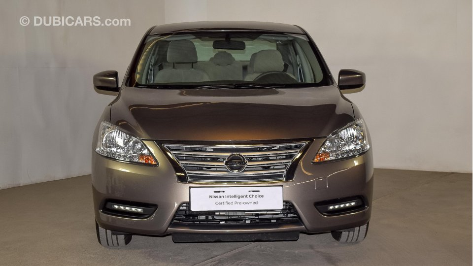 How To Calculate Interest On A Car Loan >> Nissan Sentra SV for sale: AED 52,900. Grey/Silver, 2019