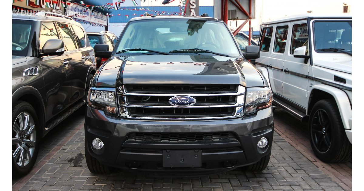 ford expedition for sale aed 128 000 grey silver 2016. Black Bedroom Furniture Sets. Home Design Ideas