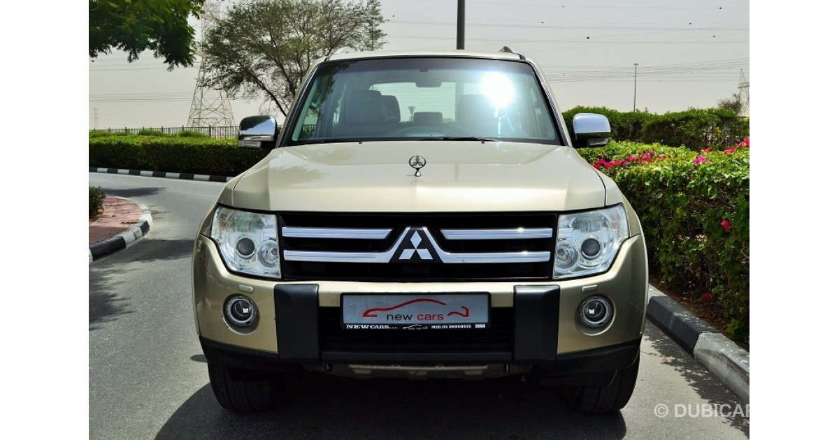 mitsubishi pajero zero down payment 1 115 aed monthly for 24 months only for sale aed. Black Bedroom Furniture Sets. Home Design Ideas