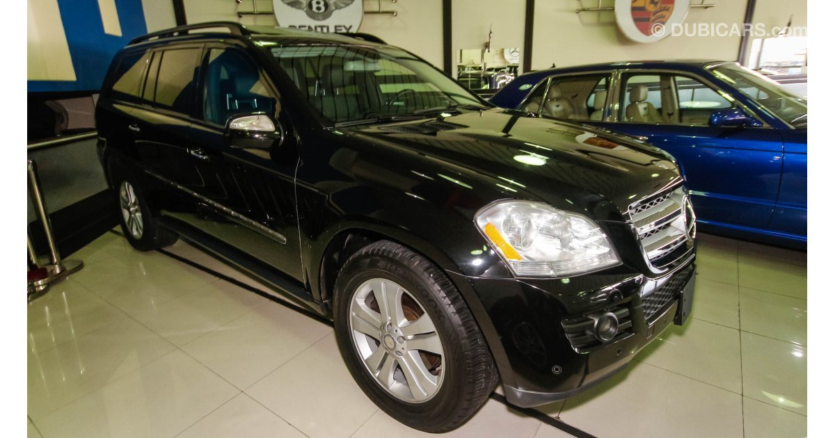 Mercedes benz gl 450 for sale aed 90 000 black 2009 for Mercedes benz 450 gl for sale