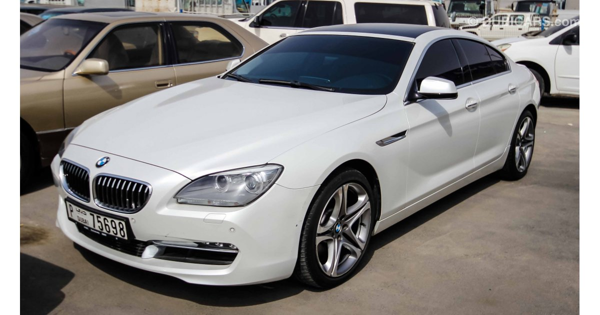 Bmw 640 I For Sale Aed 185 000 White 2014