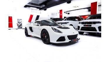 Lotus Exige S 35l V6 Sc 2016 In Perfect Condition Gcc Spec Great Deal