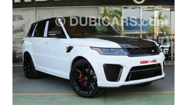 Land Rover Range Rover Sport SVR 2018 for sale: AED 579,000. White, 2018