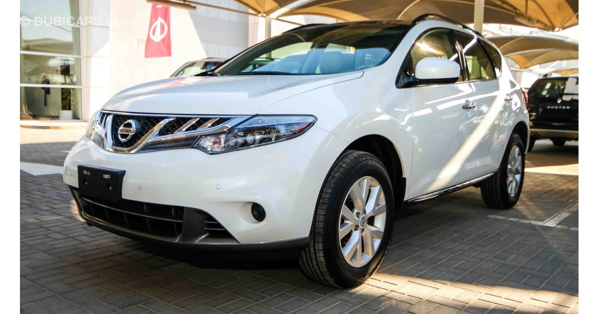 nissan murano sl awd for sale aed 79 900 white 2015. Black Bedroom Furniture Sets. Home Design Ideas