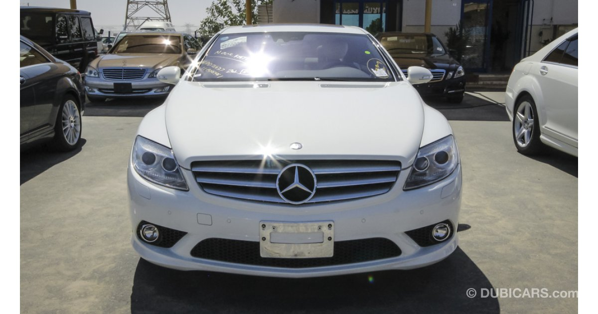 Mercedes benz cl 550 for sale aed 100 000 white 2007 for 2007 mercedes benz cl 550