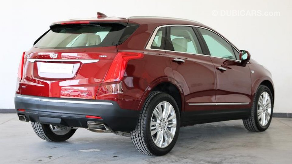 cadillac xt5 3 6 awd premium luxury for sale aed 142 900 red 2017. Black Bedroom Furniture Sets. Home Design Ideas