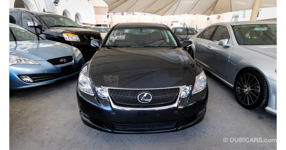 lexus gs 350 for sale aed 62 000 grey silver 2011. Black Bedroom Furniture Sets. Home Design Ideas