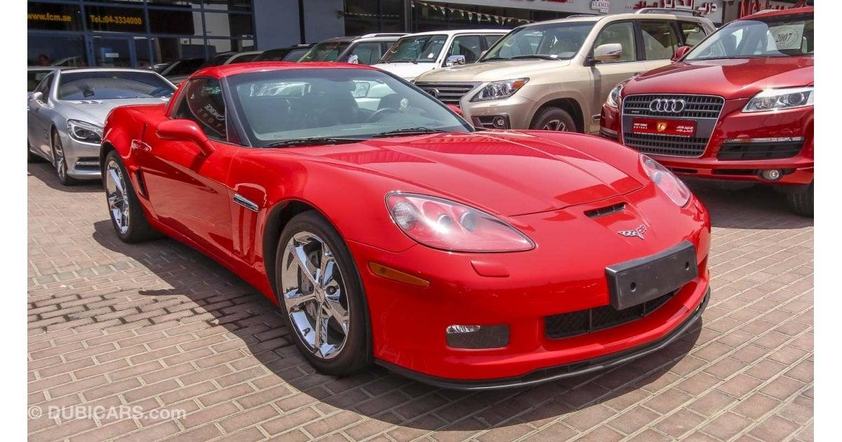 Chevrolet Corvette Grand Sport For Sale Aed 150 000 Red