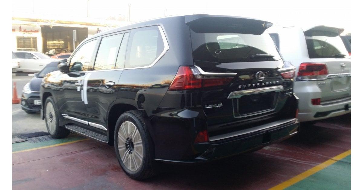 Lexus LX 570 Super Sport for sale: AED 427,000. Black, 2018