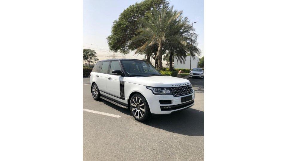 Land Rover Range Rover Vogue HSE 2015 I Al Tayer Warranty I Accident Free I GCC - AED 235,000