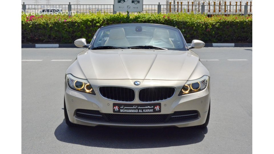 Bmw Z4 3 0 For Sale Aed 57 500 Gold 2010