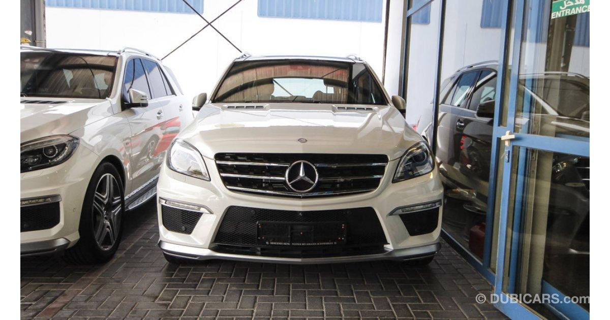 Mercedes benz ml 63 amg v8 biturbo for sale aed 355 000 for Mercedes benz v8 biturbo price