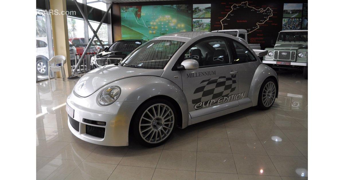volkswagen beetle for sale aed 79 000 grey silver 2001. Black Bedroom Furniture Sets. Home Design Ideas