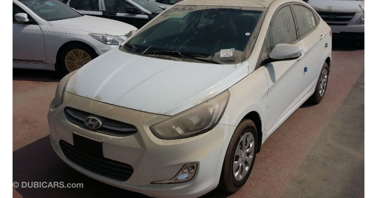 Hyundai Accent for sale: AED 37,499. White, 2017