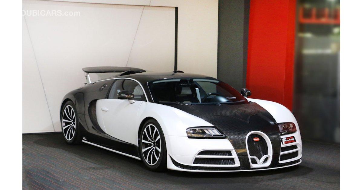 Bugatti Veyron Linea Vivere Mansory For Sale White 2006