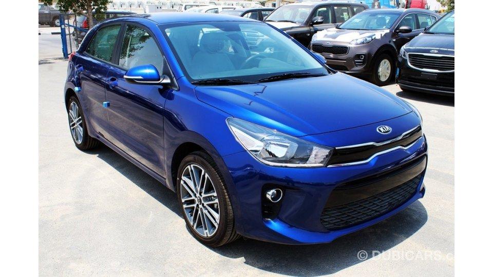 Kia Rio Hatchback >> Kia Rio 1.4L Petrol A/T Azure Blue 2018 Model for sale ...