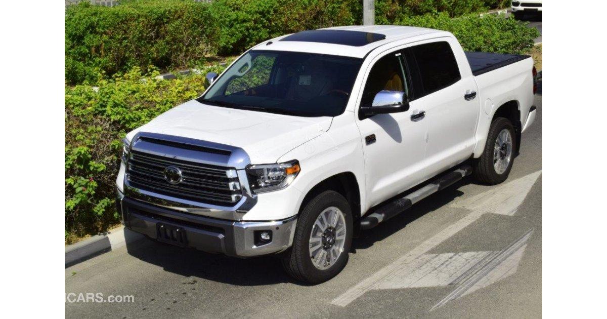 Toyota Tundra Crewmax 1794 Edition 5 7l For Sale White 2018