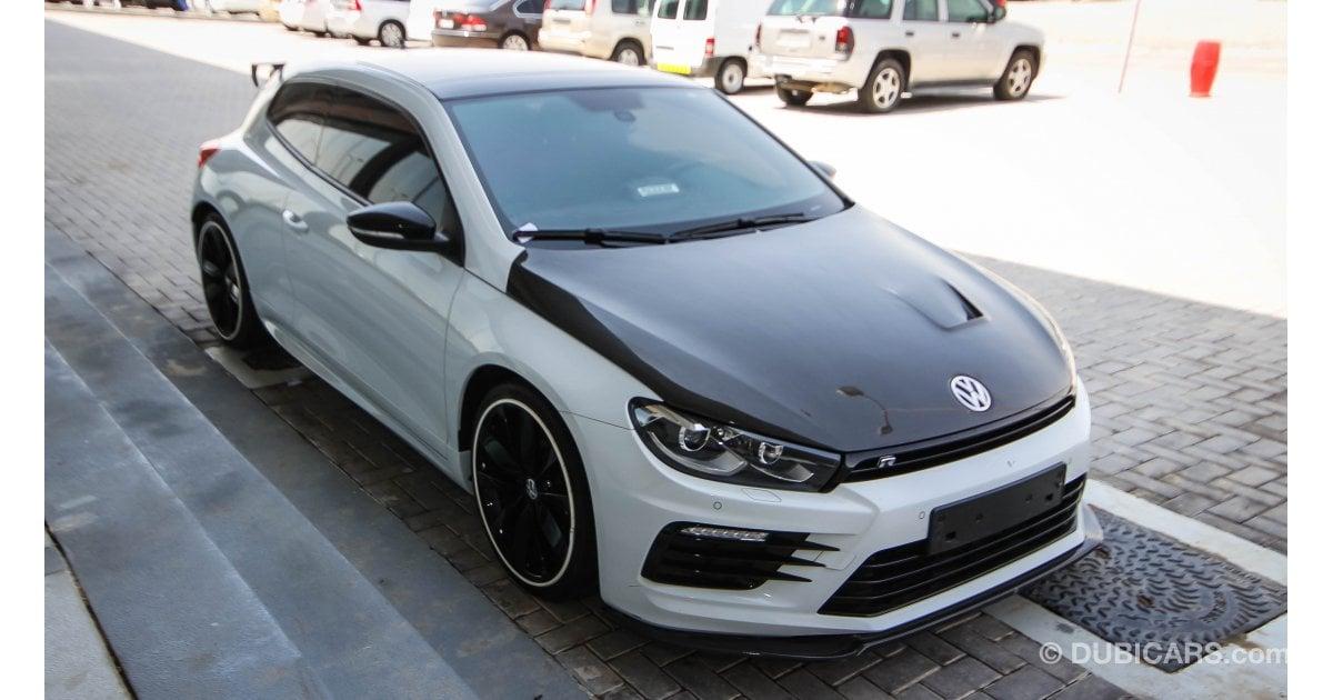 volkswagen scirocco r for sale aed 90000 white 2015