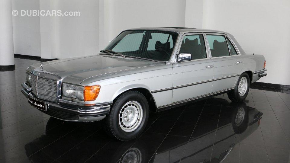 mercedes benz 450 sel 6 9 for sale aed 240 000 grey silver 1979. Black Bedroom Furniture Sets. Home Design Ideas