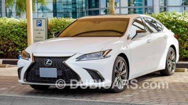 Lexus Es 350 2020 Es Sedan P 3 5l At F Sport Ref 9159 For Sale Aed 202 000 White 2020