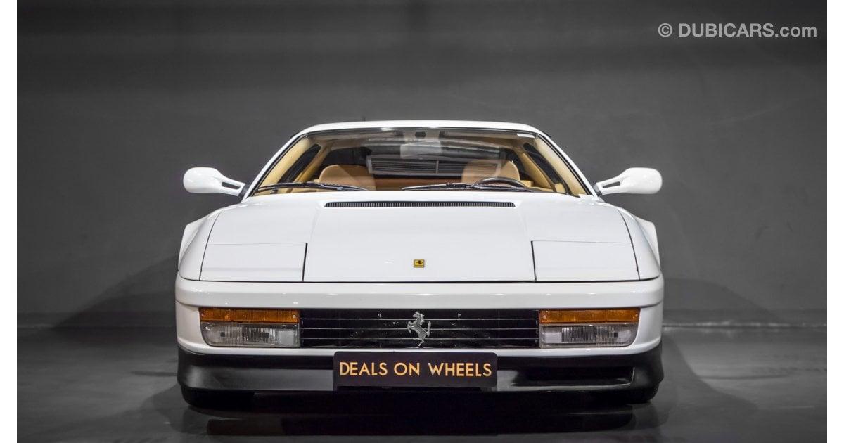 Ferrari Testarossa For Sale Aed 365 000 White 1988